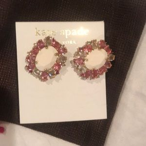 Kate spade garden bed gems earrings